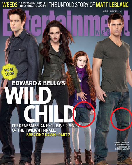 Jacob and Renesmee - Matching Outfits!