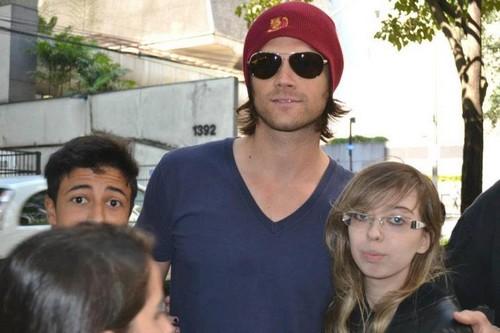 Jared and his Brazilian mashabiki