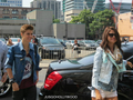 Jelena arriving at MMVAs rehearsals (16. June)