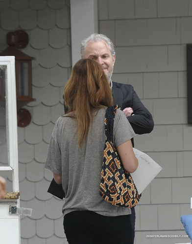 Jennifer Lawrence meets with 'Catching Fire' director Francis Lawrence - the-hunger-games Photo