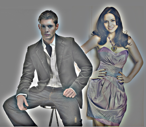 Jensen Ackles and Navi Rawat - jensen-ackles Fan Art