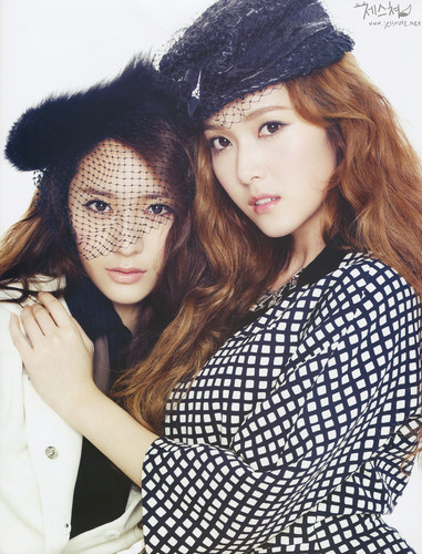 Jessica and Krystal @ Marie Claire