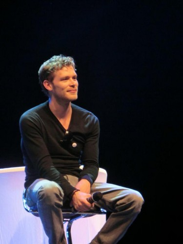 Joe at the Crimson Sky Convention in Vienna (June 16)