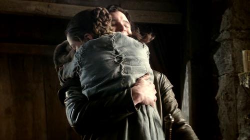 Jon and Arya