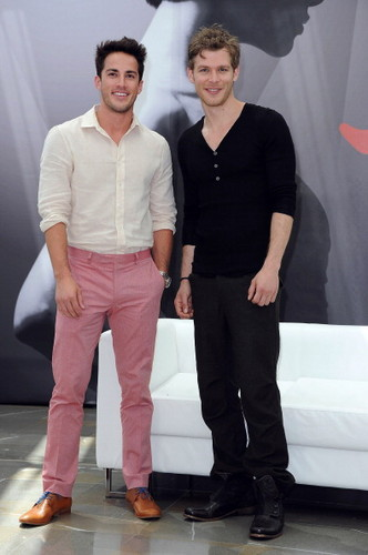 Joseph Morgan & Michael Trevino at the 52nd Monte Carlo TV Festival - the-vampire-diaries-tv-show Photo
