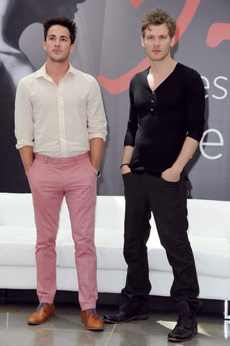 Joseph Morgan &amp; Michael Trevino at the 52nd Monte Carlo TV Festival - the-vampire-diaries-tv-show Photo