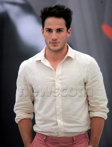 Joseph مورگن & Michael Trevino at the 52nd Monte Carlo TV Festival