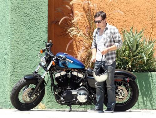 Josh out in LA