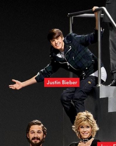 Justin Bieber Paramount 100th anniversary