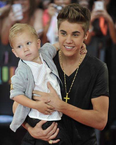 Justin and Jaxon