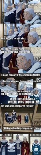 Avatar The Last Airbender kertas dinding called Katara
