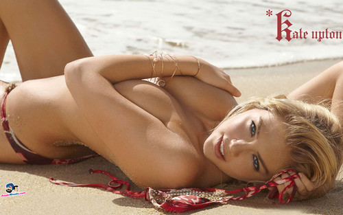 kate upton wallpaper containing skin and a bikini entitled Kate Upton
