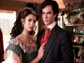 katherine-pierce - Katherine & Damon wallpaper