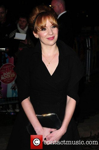 Katherine Parkinson. World Premiere of 'The 船, 小船 That Rocked' held at The Odeon, Leicester Square -