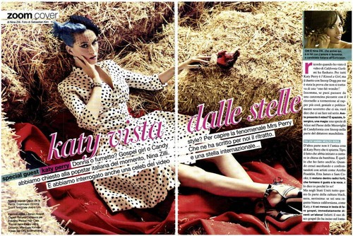 Katy Perry for Glamour Italy June 2012