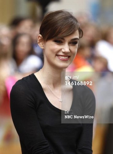 Keira at the Today Show