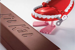 Chocolate wallpaper called Kit Kat