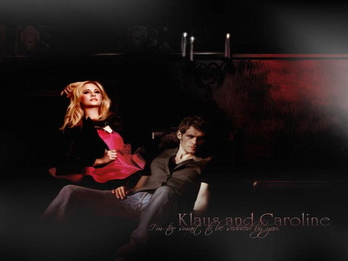 The Vampire Diaries images Klaus & Caroline HD wallpaper ...