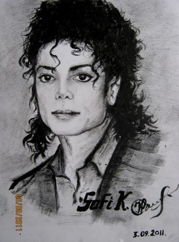 Kobeleva Sofia's drawing Michael Jackson ♥