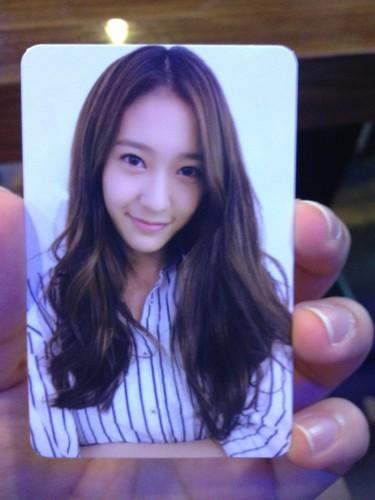 Krystal @ Electric Shock Photocard