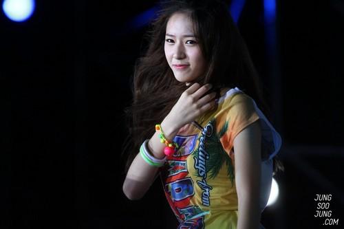 Krystal @ SMTOWN In Taiwan