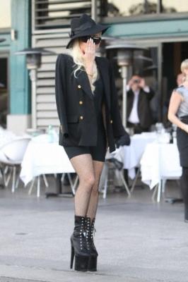 Lady GaGa leaving Manta Restaurant in Sydney, Australia (June 17th)