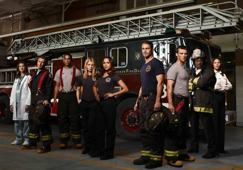 Lauren German in Chicago Fire