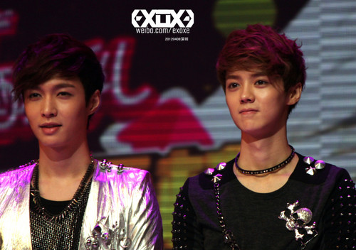 Lay and 鹿晗