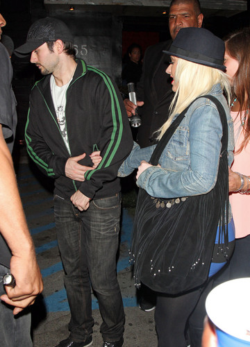 Leaving A Nightclub In West Hollywood (9 June 2012) - christina-aguilera Photo