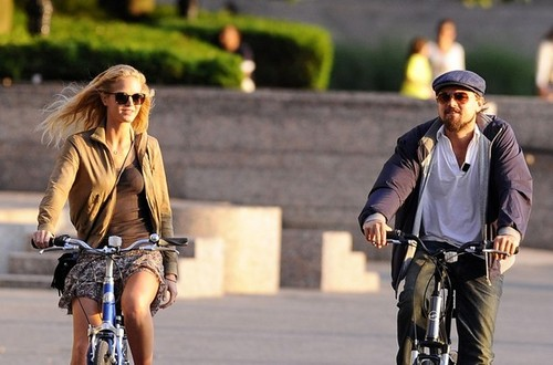 Leo & Erin Sunset Bicycle Ride - leonardo-dicaprio Photo