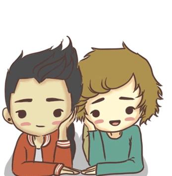 Liam And Zayn....so Cute !!!