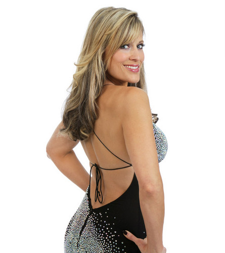 Lilian Garcia achtergrond probably containing attractiveness, a bustier, and a chemise titled Lilian Garcia Photoshoot Flashback
