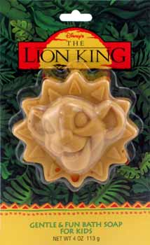 Whatever happened to..... wallpaper possibly with anime called Lion King soap bar