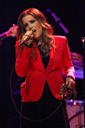 Lisa Marie Presley In Concert, New York, NY