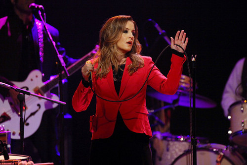 Lisa Marie Presley In Concert, New York, NY - lisa-marie-presley Photo