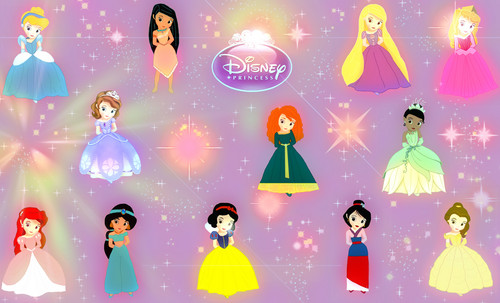 Little डिज़्नी Princess