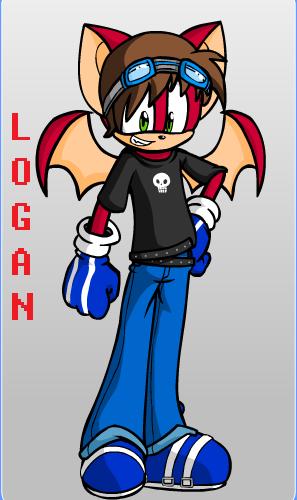 Logan the bat