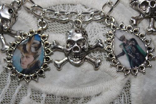 Loki charm bracelet