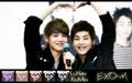Luhan and Xiumin