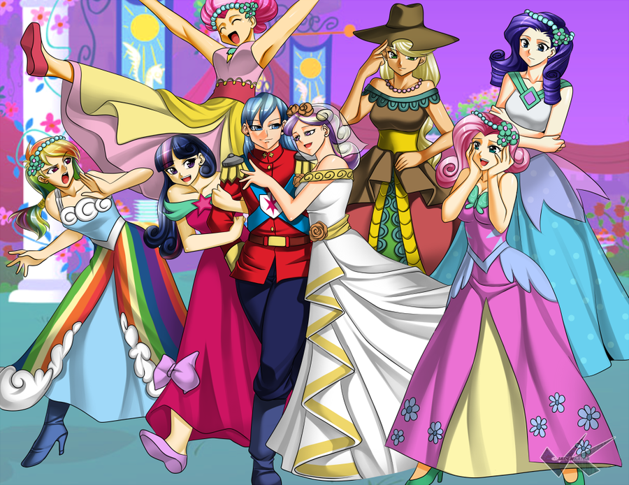 My little pony friendship is magic mlp royal wedding