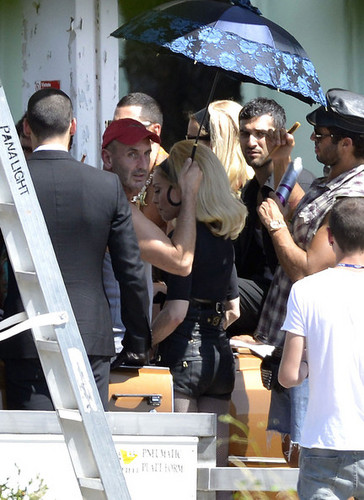 madonna Shoots Her New música Video in Italy