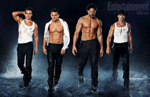 White Collar wallpaper entitled Magic Mike