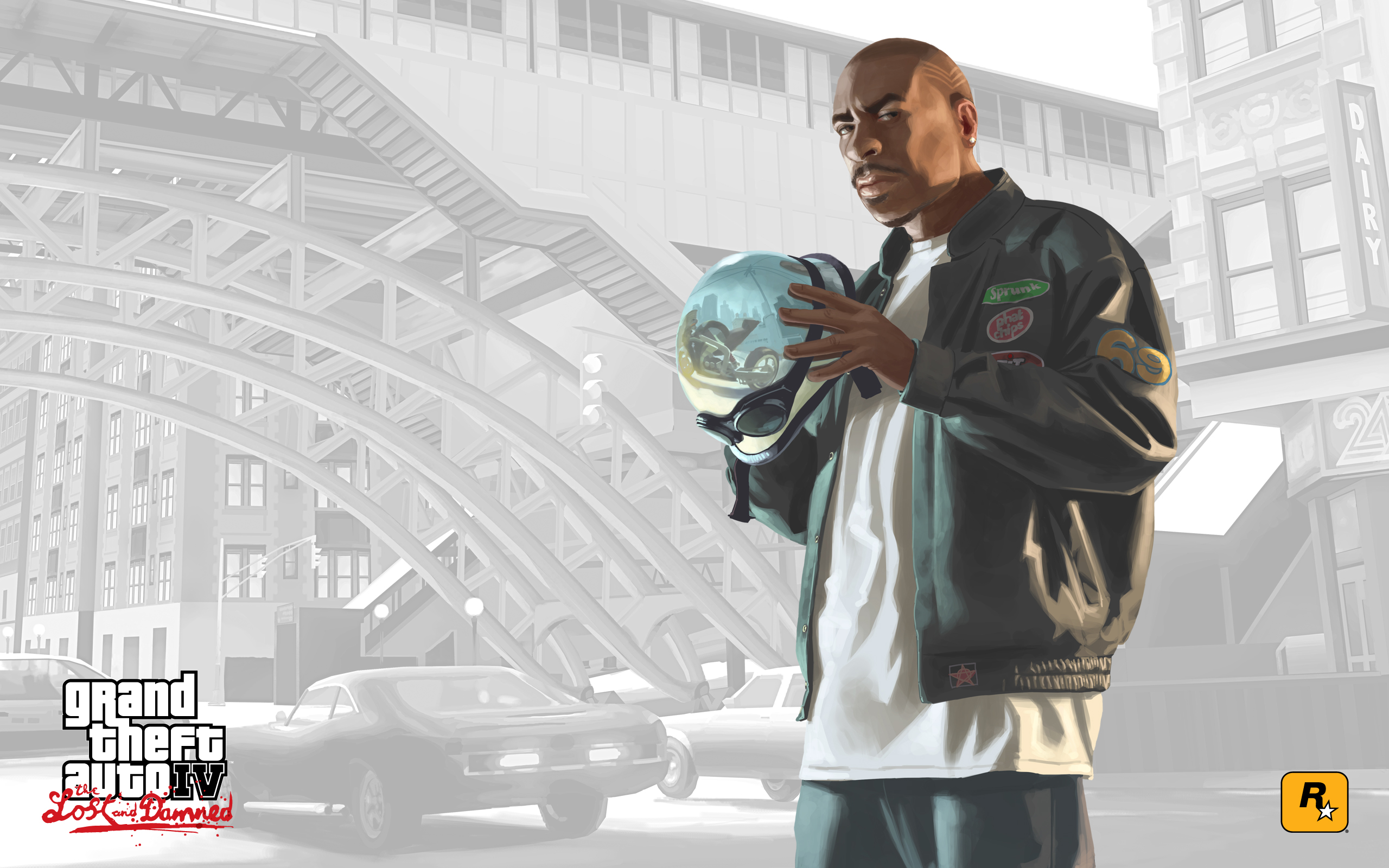 malc wallpaper grand theft auto iv the lost and damned