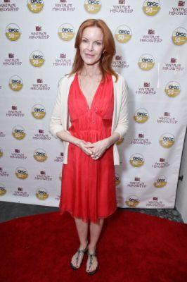 Marcia at Vintage Hollywood Fundraiser
