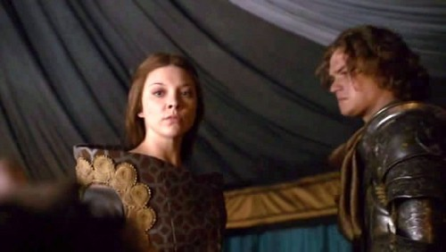 Margaery Tyrell wallpaper titled Margaery and Loras