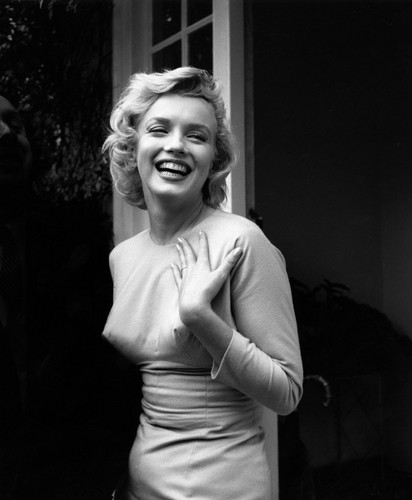 Marilyn Monroe wolpeyper possibly containing tights, a leotard, and a portrait entitled Marilyn Monroe