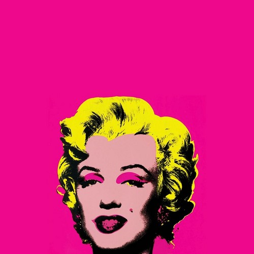 Marilyn Monroe wallpaper entitled Marilyn - Warhol style