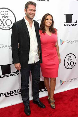 "Mariska and Peter @ ""Something From Nothing: The Art Of Rap"" Screening"