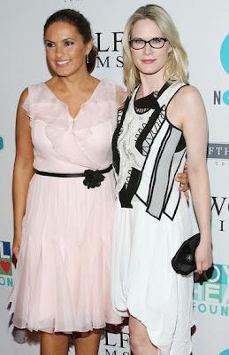 Mariska and Stephanie March @ Joyful Revolution Gala