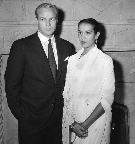 Marlon Brando & Anna Kashfi